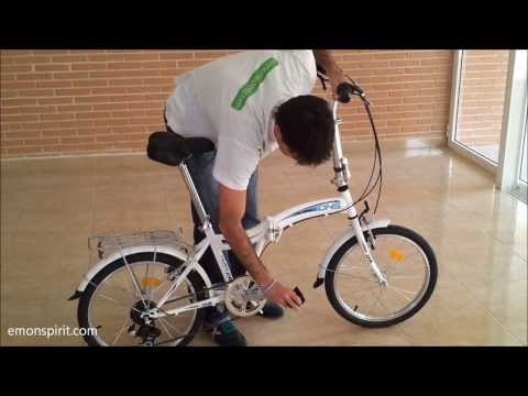 Bicicleta Plegable DHS Folding 2 0