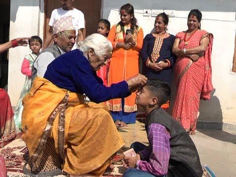 (बडादशैं मान्यजनहरुबाट टीका र आशिर्वाद ग्रहण गरी मनाइँदै - NEWS24 TV - Duration: 110 seconds.)