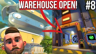 I OPENED THE GIANT WAREHOUSE!! - SCRAP MECHANICS SURVIVAL #8