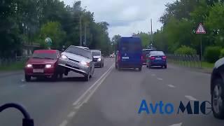 Не очкуй или Дураки и дороги 2018 Сборник безумных водителей #12
