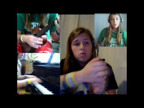 Hey Soul Sister/I'm Yours/Somewhere Over the Rainbow piano ukulele medley
