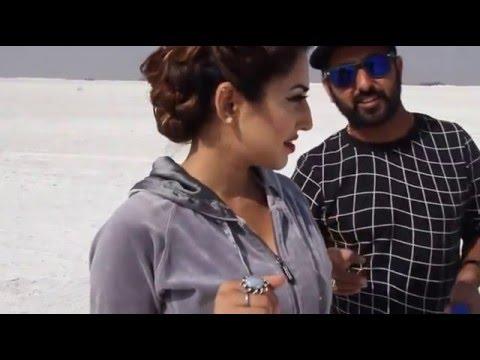 roshan prince on set jatti de nain full masti with parmod sharma rana,surbhi mahendru
