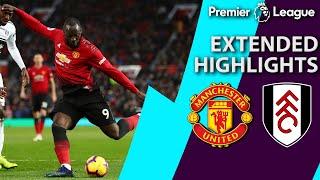 Video Man United v. Fulham I PREMIER LEAGUE EXTENDED HIGHLIGHTS I 12/8/18 I NBC Sports MP3, 3GP, MP4, WEBM, AVI, FLV Desember 2018