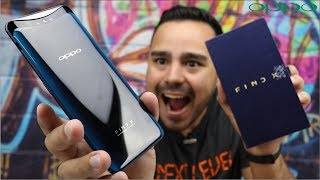 OPPO FIND X - O SMARTPHONE MAIS TOP DO MUNDO! UNBOXING