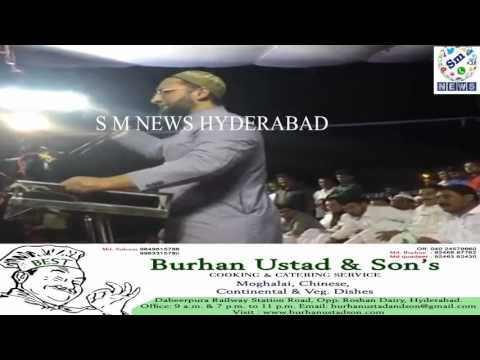 Video AIMIM SUPREMO FUNNY REMARK ON BEEF IN SHOLAPUR 07 05 2016 download in MP3, 3GP, MP4, WEBM, AVI, FLV January 2017