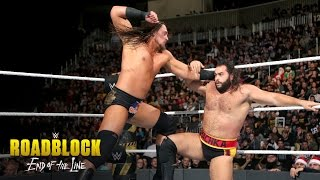 Nonton Big Cass Vs  Rusev  Wwe Roadblock  End Of The Line 2016 Kickoff Match On Wwe Network Film Subtitle Indonesia Streaming Movie Download