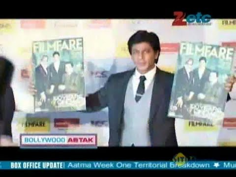 Dilip Kumar, Amitabh Bachchan and Shahrukh Khan on