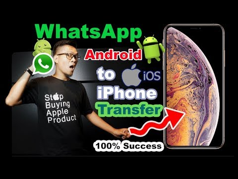 Cara Transfer Chating Whatsapp Android to iPhone 2019  [INDONESIA]- iNitial E