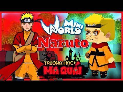 TRƯỜNG HỌC MA QUÁI: -tập 22- 1 ngày làm Naruto   Thử thách phân thân chi thuật đánh ngựa mặt ngu - Thời lượng: 12 phút.