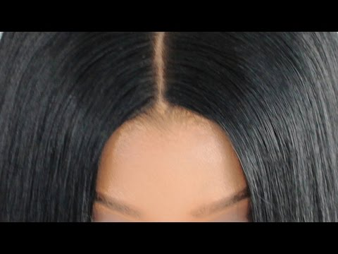 Lace Closure Sew In NO LEAVE OUT!