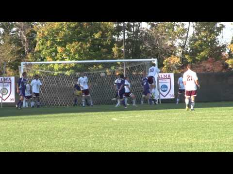 Alma College Men's Soccer vs Albion College - October 5, 2011
