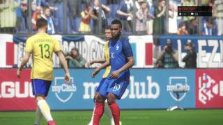 Pes 2018 Brazil vs France - First Match  Gameplay PS4Wellcome to FP Good Game Like the video if you enjoyed ► Thanks for watching!Click Here To Subscribe! ► https://goo.gl/WWo5y0Facebook: https://www.facebook.com/fpgoodgamesMy Twitch : http://www.twitch.tv/fpgoodgameMy Twitter : https://twitter.com/Fpgoodgame
