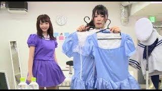 【超スゴイ動画】アイドル「少女隊」の超スゴイ早着替え映像!