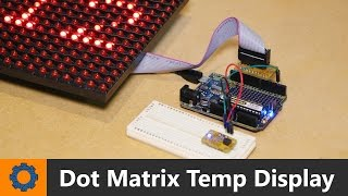 In this Arduino video I show you how to display a temperature sensor reading using a Freetronics dot-Matrix display.Project Page: http://www.mrhobbytronics.com/arduino-dot-matrix-temp-display/Website: http://www.mrhobbytronics.com/Facebook: https://www.facebook.com/MrHobbytronicsTwitter: https://twitter.com/MrHobbytronics