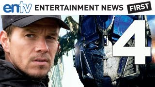Transformers 4 (2014) Upgrades To Mark Wahlberg From Shia Labeouf: ENTV