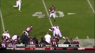 Mark Barron vs Mississippi St 2011