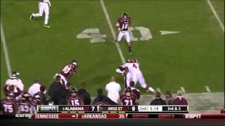 Mark Barron vs Mississippi St 2011
