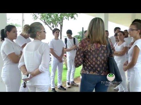 Alunos de Medicina visitam Hospital de Base em Porto Velho