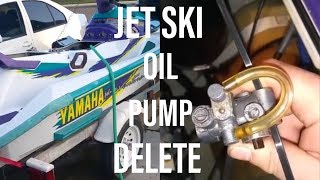 10. How To Bypass Your 2 Stroke Jet Ski Oil Pump Using These SIMPLE Steps Go Premix