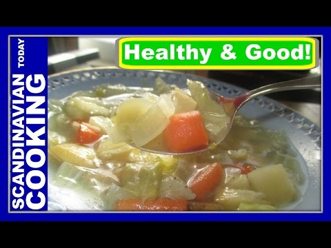 Hvidkålssuppe – Danish Cabbage Soup