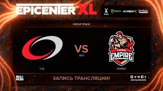coL vs Empire, EPICENTER XL, game 2 [Eiritel, LighTofHeaveN]