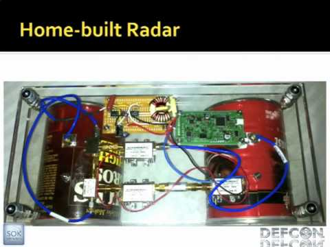 Radar - Speaker: Michael Scarito Radar is used extensively by the military, police, weather, air travel, and maritime industries - why not you? Come learn how to bui...