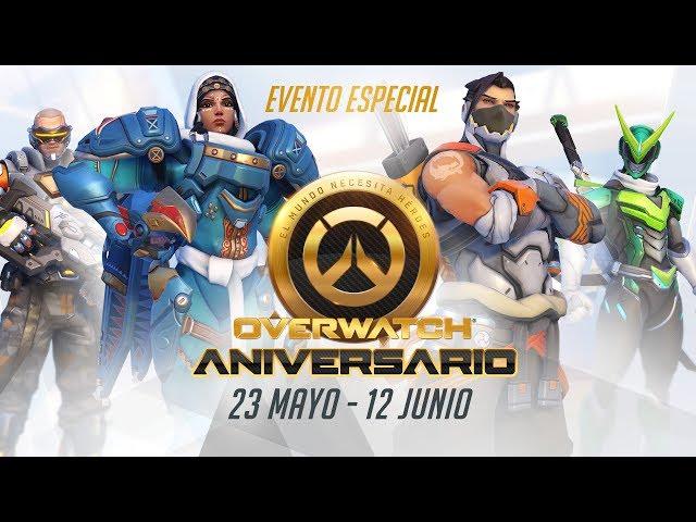 [NUEVO EVENTO] ¡Os damos la bienvenida al aniversario de Overwatch!