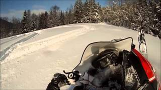 6. Snowmobile 2013 Polaris Pro RMK 600