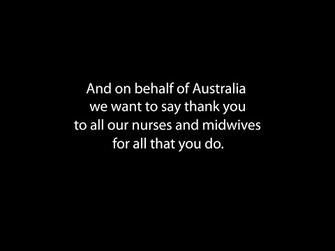 Thank you to all our nurses and midwives