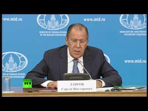 Сергей Лавров подводит итоги деятельности российской дипломатии в 2016 году - DomaVideo.Ru