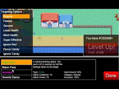 Pokemon Tower Defense- Tutorial - How To Beat Cinnabar Gym PTD 6.1