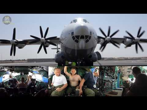 Largest ever turboprop airplane...