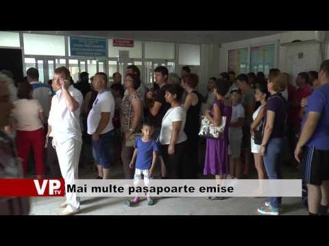 Mai multe pașapoarte emise prahovenilor
