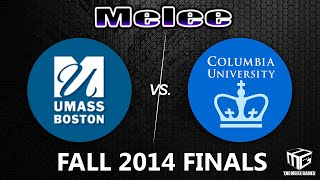 The Melee Games Season2 Finals @ Apex 2015 – UMass Boston vs Columbia (NYC) – Finally available as a VOD!