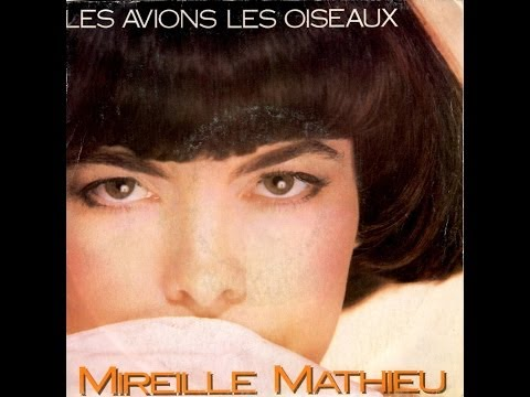 Tekst piosenki Mireille Mathieu - Les avions, les oiseaux po polsku