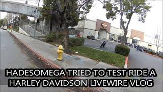 10. HadesOmega Tries to Ride Harley Davidson Livewire VLOG