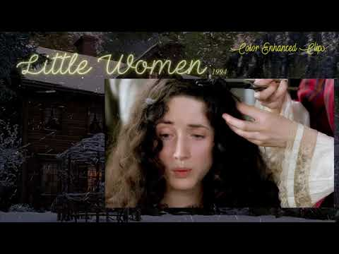 "Little Women 1994 Film - ""Like Burnt Feathers"" (Color Enhanced Clips) HD"