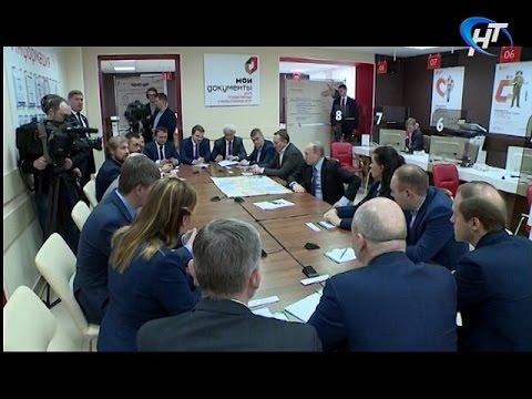 Владимир Путин встретился с новгородскими предпринимателями