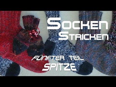 Spitze – Socken Stricken – Anleitung – mit Christine