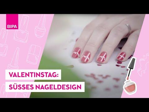 Nageldesign - Tutorial: Valentinstag Nägel- LOOK BY BIPA create your look