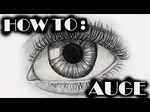 realistisches Auge zeichnen | Tutorial