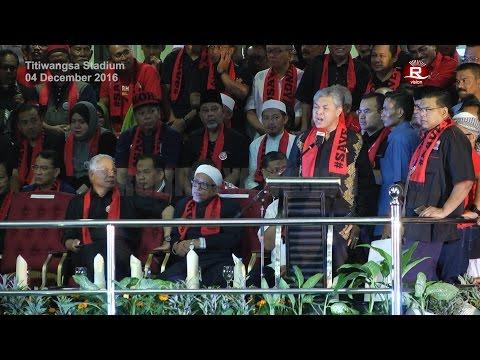 Deputy Prime Minister Dato' Seri Dr. Ahmad Zahid Hamidi full Speech