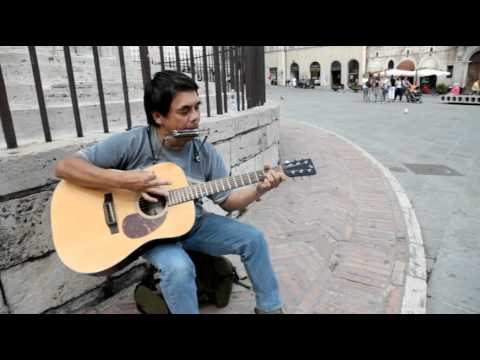 Bob Dylan All along the Watchtower (cover) street version
