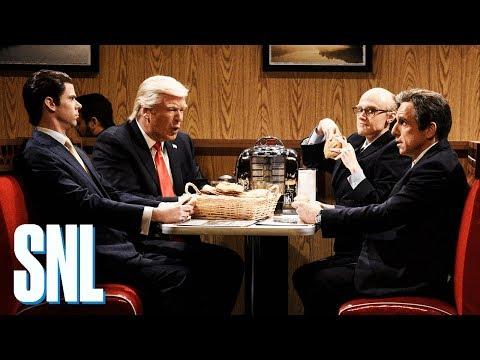 Donald Trump Robert Mueller Cold Open - SNL (видео)
