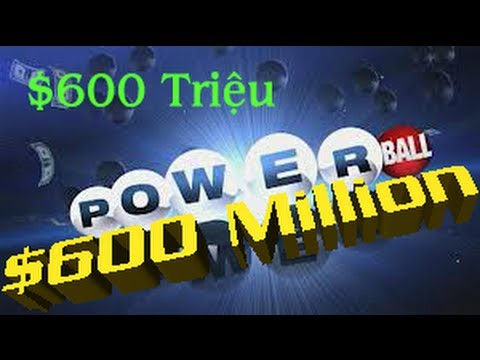 X s Powerball  Hoa K ln ti 600 triu  la