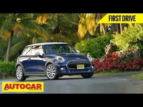 2014 Mini Cooper & Mini Cooper S | First Drive Video | Autocar India (видео)