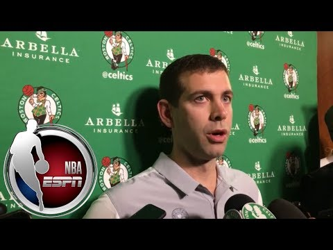 Video: Brad Stevens: Marcus Smart lacerated his hand on glass, got stitches | NBA on ESPN