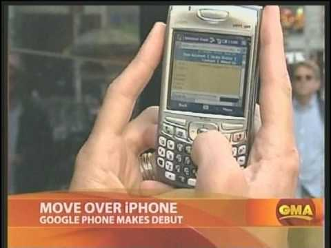 Google Phone Introduced on GMA