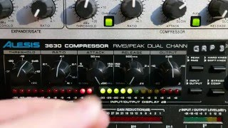 Video Alesis 3630 Compressor: Drums, Guitars, Vocals & Full Mix MP3, 3GP, MP4, WEBM, AVI, FLV September 2018