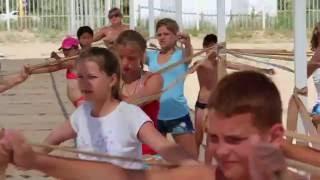 Крым. Рябинка 2016. Тренировка на пляже.